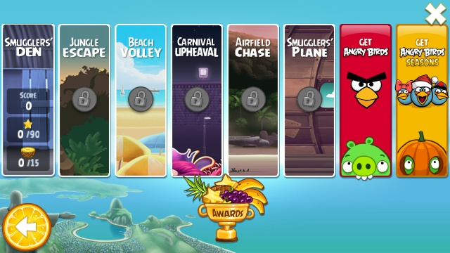 Angry Birds Rio and Seasons Receive New Levels